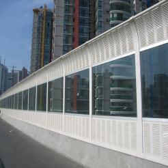 What are the advantages of installing bridge sound barriers in addition to good noise reduction?