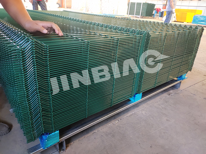 3D Wire Mesh Fence Export to Europe